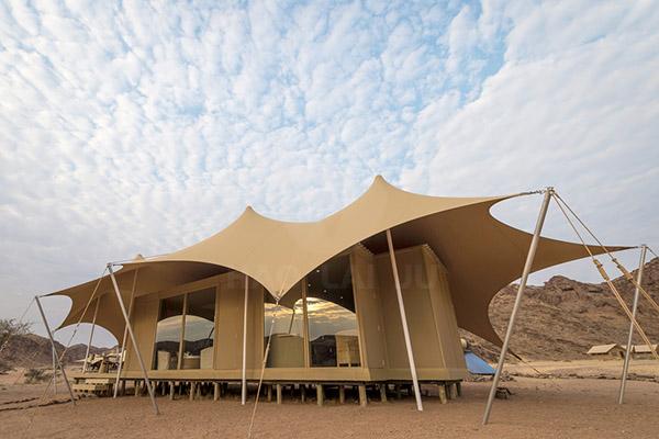 野奢酒店住宿帐篷