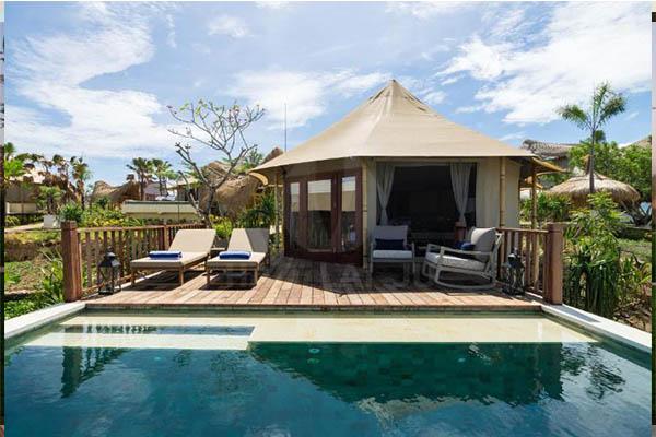 印尼酒店帐篷案例