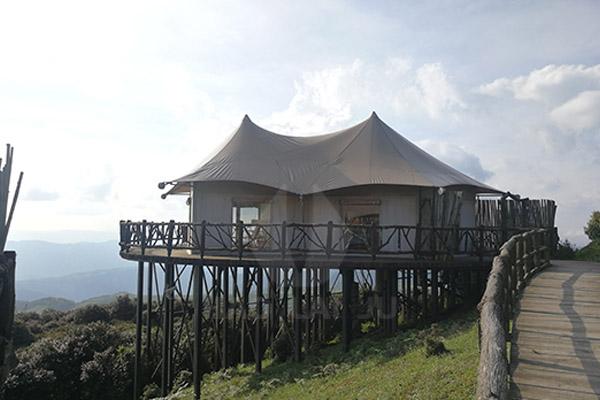 欧式酒店帐篷营地