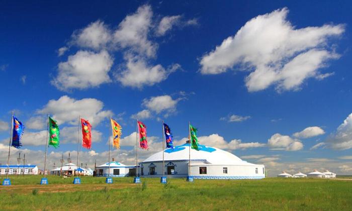 蒙古包篷房