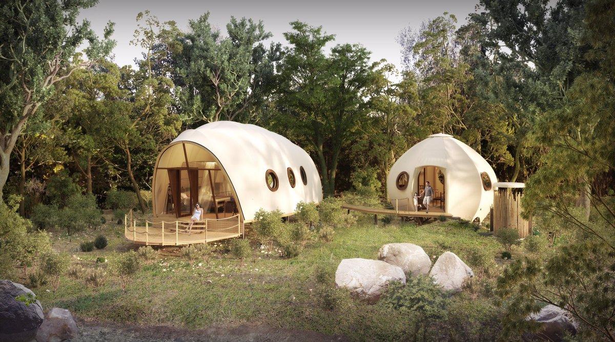 虫壳酒店帐篷