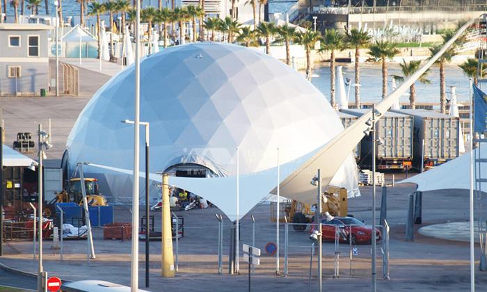 商业活动球形篷房