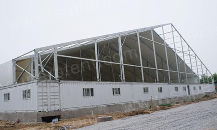 65米跨度仓储篷房