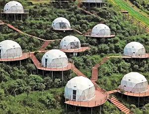 武功山星空球形酒店帐篷