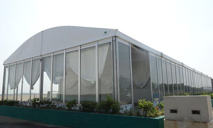 活动弧顶篷房
