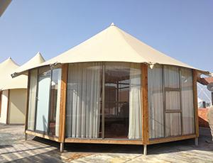 欧式单峰酒店帐篷