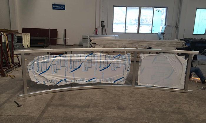 篷房配件-弧形地板