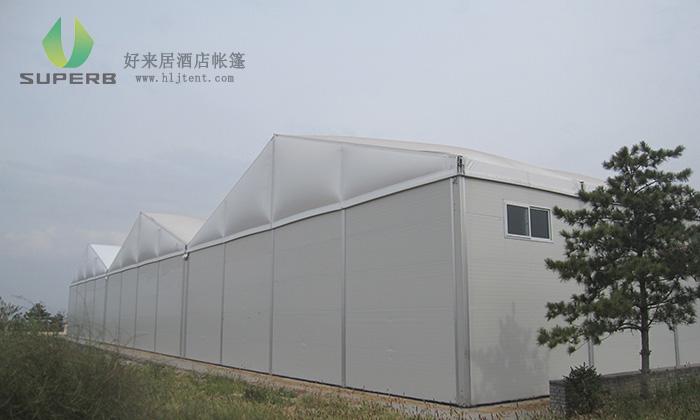 易燃易湿的物品可以放在工业存储帐篷中吗?