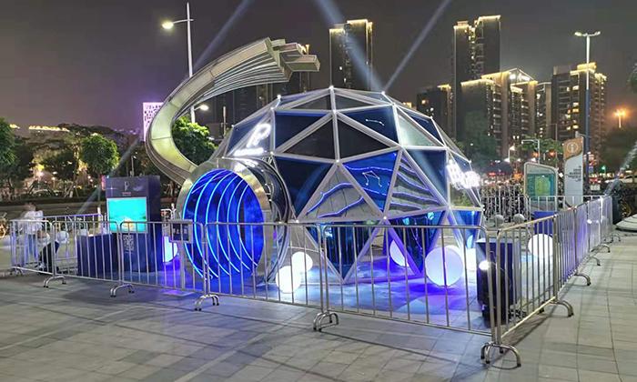 玻璃球形帐篷案例