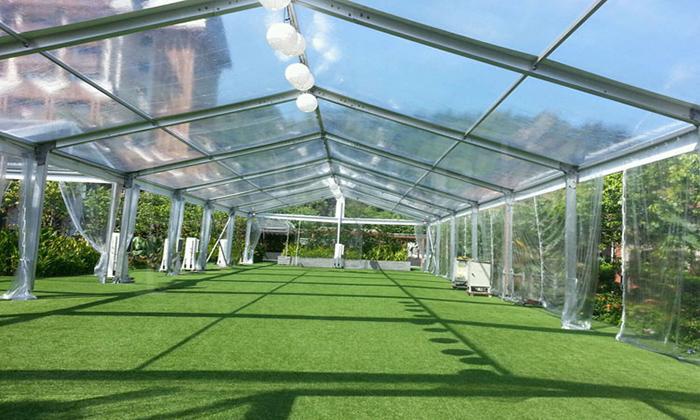 欧式透明婚礼篷房