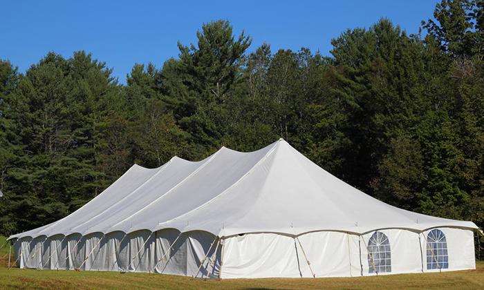 婚礼撑杆篷房