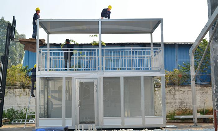 铝合金双层篷房