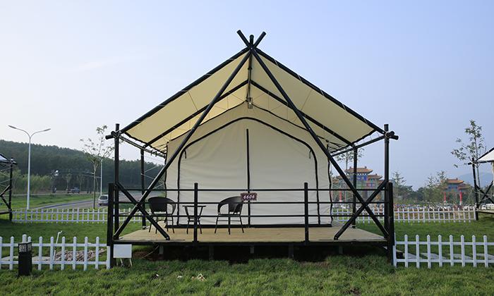 旅游度假区天幕小屋