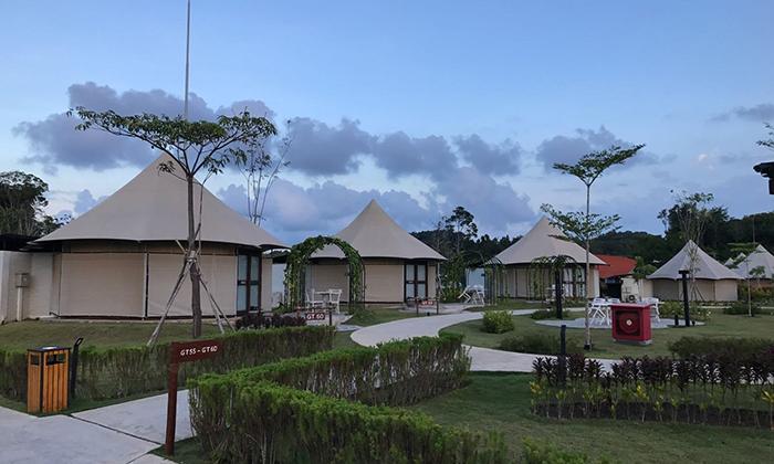 什么是酒店帐篷?