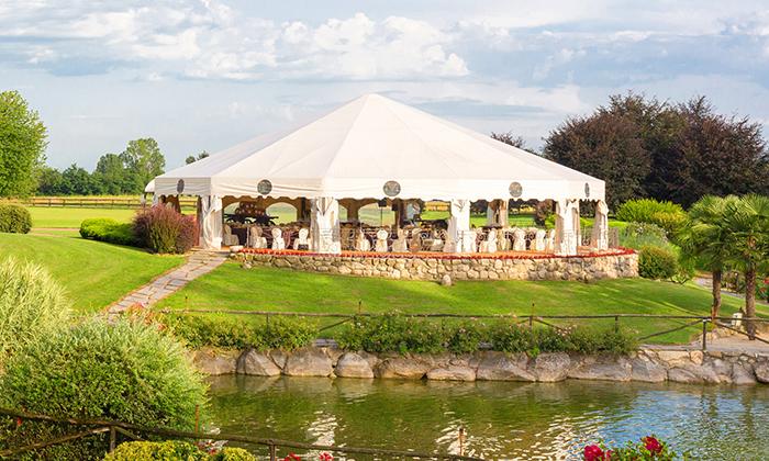多边形庆典婚礼篷房
