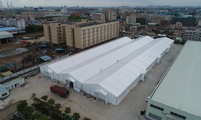 中山大型仓储篷房租赁