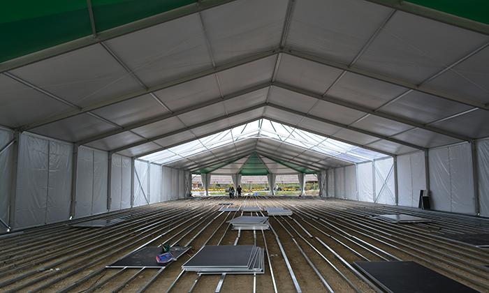 大型仓储篷房应用范围