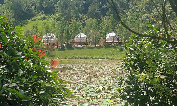 湖南衡阳6米星空酒店帐篷