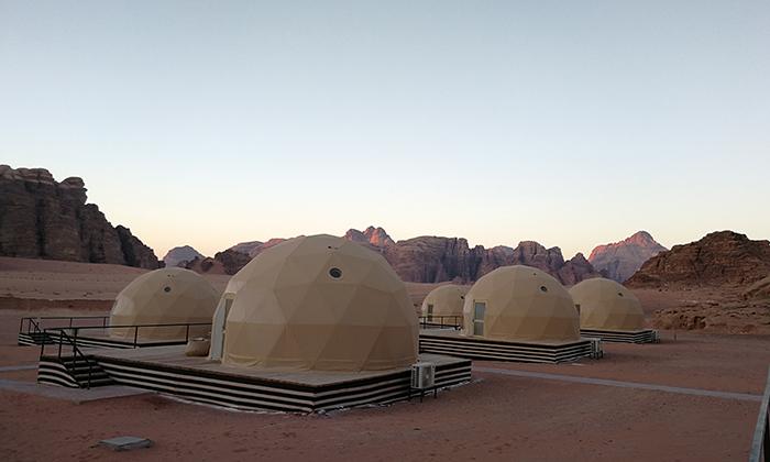 沙漠6米星空酒店帐篷