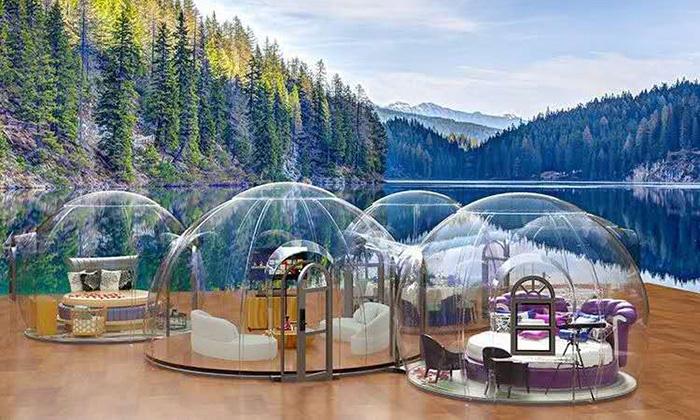 泡泡屋&透明餐厅