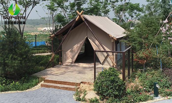 河南郑州天幕小屋酒店帐篷项目