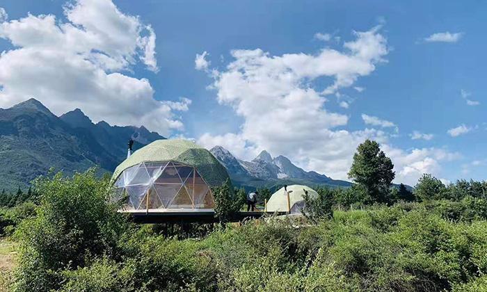 如何看待帐篷民宿行业?