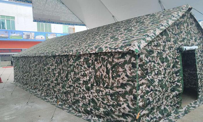 迷彩军用帐篷