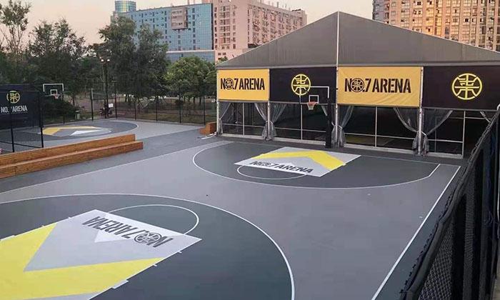 室内篮球比赛篷房