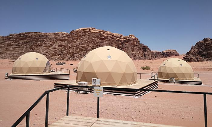选择球形帐篷的优势