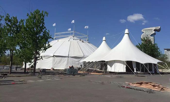 大型马戏团帐篷