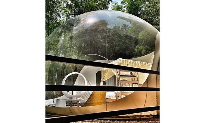 透明星空泡泡屋